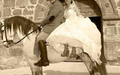 Nedea y su llegada a caballo